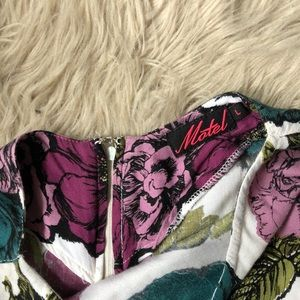 Motel Pants - Motel 'Mollie' Graphic Floral Print Romper